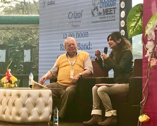 Ruskin Bond - Launch
