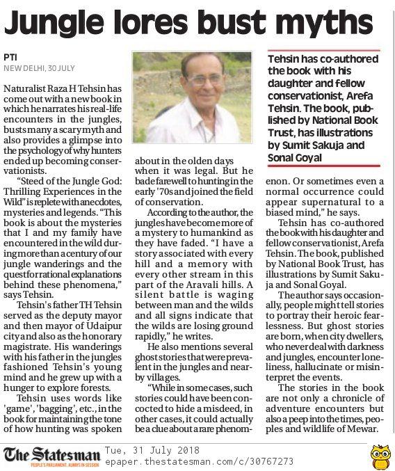 The Telegarph - Delhi Edition - 31st July 2018