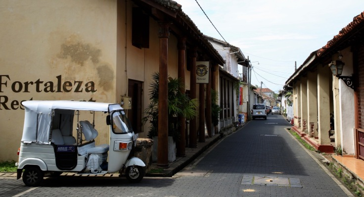 The Charming Lanes inside Galle Fort